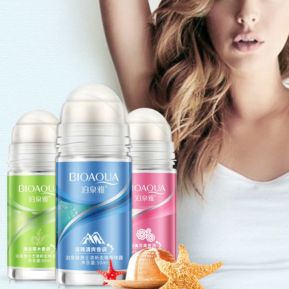 Ball Body Lotion Antiperspirants Underarm Deodorant Roller Bottle Fragrance Smooth Dry  Slimming Body Cream Perfumes 1