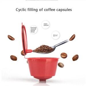 Image 4 - Nespresso 1/2/3 Pcs Koffie Capsule Nestle Dolce Gusto Capsule Herbruikbare Koffie Filter Capsule Machine Hervulbare Cafe capsula