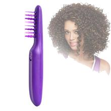 חשמלי Detangling מברשת שיער מתולתל Detangle מברשת קרקפת עיסוי מסרק לשחרר קשרים וסבך עבור רטוב ויבש שיער ילדים למבוגרים