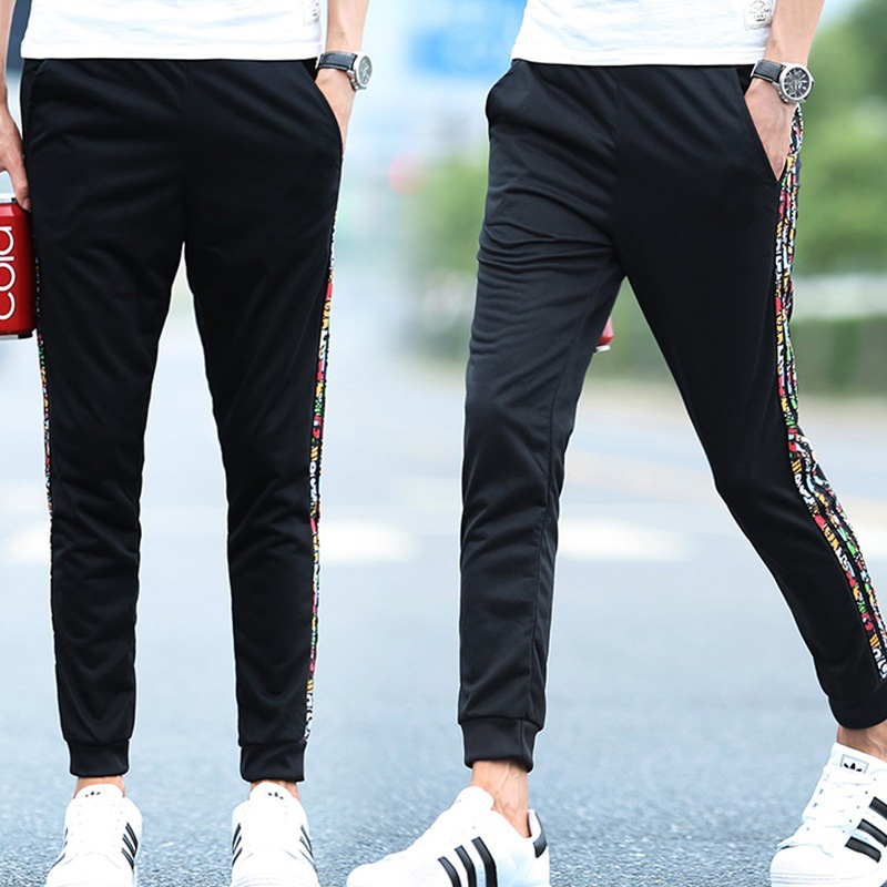 Athletic Pants Men's Thin Trousers Spring And Autumn New Style Slim Fit Pants Casual Pants Men Teenager Students Wei Pants Men's