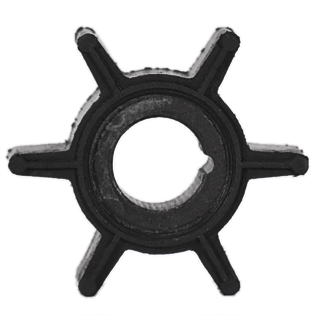 Water Pump Impeller Black Rubber For Tohatsu/Mercury/Sierra 2/2.5/3.5/4/5/6HP Outboard Motor 6 Blades Boat Parts & Accessories 1