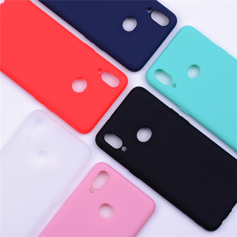 Silicone Case For Samsung A10 Case Soft TPU Phone coque on For Samsung Galaxy A10 A 10 A105 A105F A10s A 10s A107 <font><b>A107F</b></font> Cover image