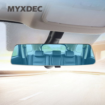 Universal Blue Mirror 2.5D Full Screen HD Frameless Large Vision Car Interior Explosion-proof Wide Angle Rearview Endoscope