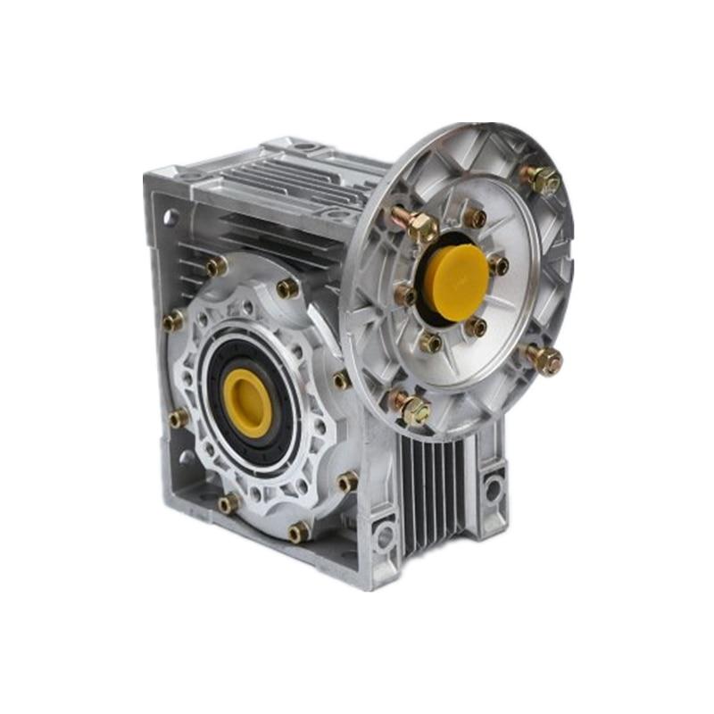 Hohe qualität NMRV40 wurm getriebe hohe output speed getriebe richtung Flansch 63B14 Wurm Minderer 90 Grad Geschwindigkeit Minderer