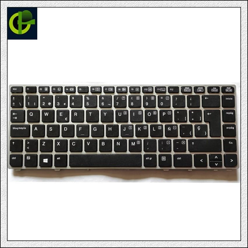Новая испанская клавиатура для ноутбука HP EliteBook Folio 9470 9470M 9480 9480m 697685-001 V135426AS2 697685-051