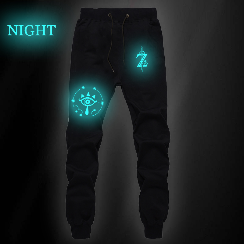 The Legend Of Zelda Luminous Sports Straight Pants Link Sweat Pockets Jogger Fitness Sports Breathable Pants