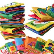 8 страниц детская игрушка, Пупс солнце книга из ткани, игрушки в форме животного номер кукла игрушка для От 0 до 3 лет книги для раннего развития подарки для детей