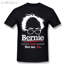 Bernie sanders президентская футболка 2020 забавная not me с
