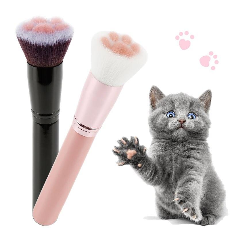 Makeup Brushes Cat Claw Paw Makeup Brush Professional Eye Shadow Blending Eyeliner Eyelash Eyebrow Brush for Makeup Tool