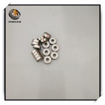 Rodamiento de acero inoxidable de alta precisión SMR74ZZ, ABEC-7 (10 Uds.), rodamientos...