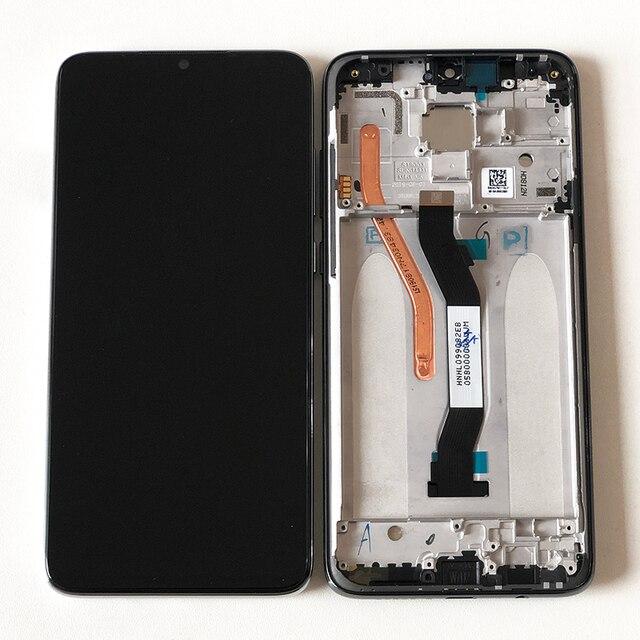 """Originele M & Sen 6.53 """"Voor Xiaomi Redmi Note 8 Pro Lcd scherm + Touch Screen Digitizer Met frame Voor Redmi Note 8 Pro Lcd"""
