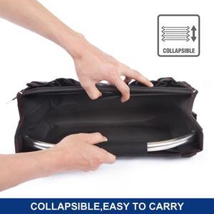 "Image 4 - Workpro 16 ""600d ferramenta dobrável saco de ombro bolsa ferramenta organizador saco de armazenamento"