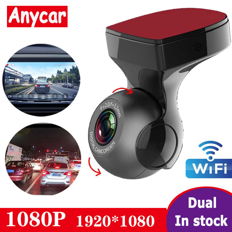 2020 Auto Dvr Full Hd 1080P Wifi Dash Cam Dvr Dash Camera Recorder Wifi G-Sensor Gps Mini dash Camera Night Registrator Recorder