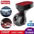 2020 Автомобильный видеорегистратор Full HD 1080P, Wi-Fi, видеорегистратор, видеорегистратор, Wi-Fi, G-датчик, Gps, мини-видеорегистратор, ночной регистрат...