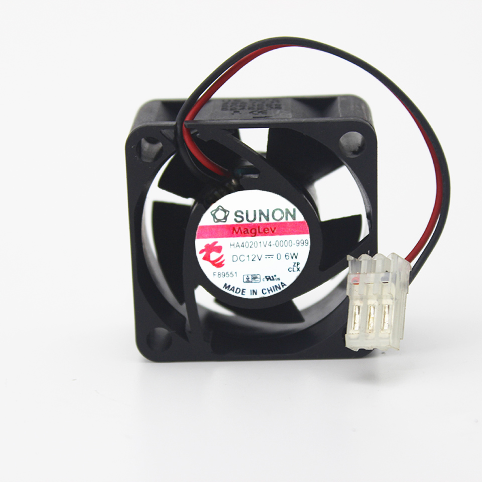 1pcs HA40201V4-0000-999 ultra-<font><b>quiet</b></font> <font><b>fan</b></font> 4020 <font><b>40mm</b></font> 4cm DC 12V 0.6W 2Wire Cooling <font><b>Fan</b></font> image