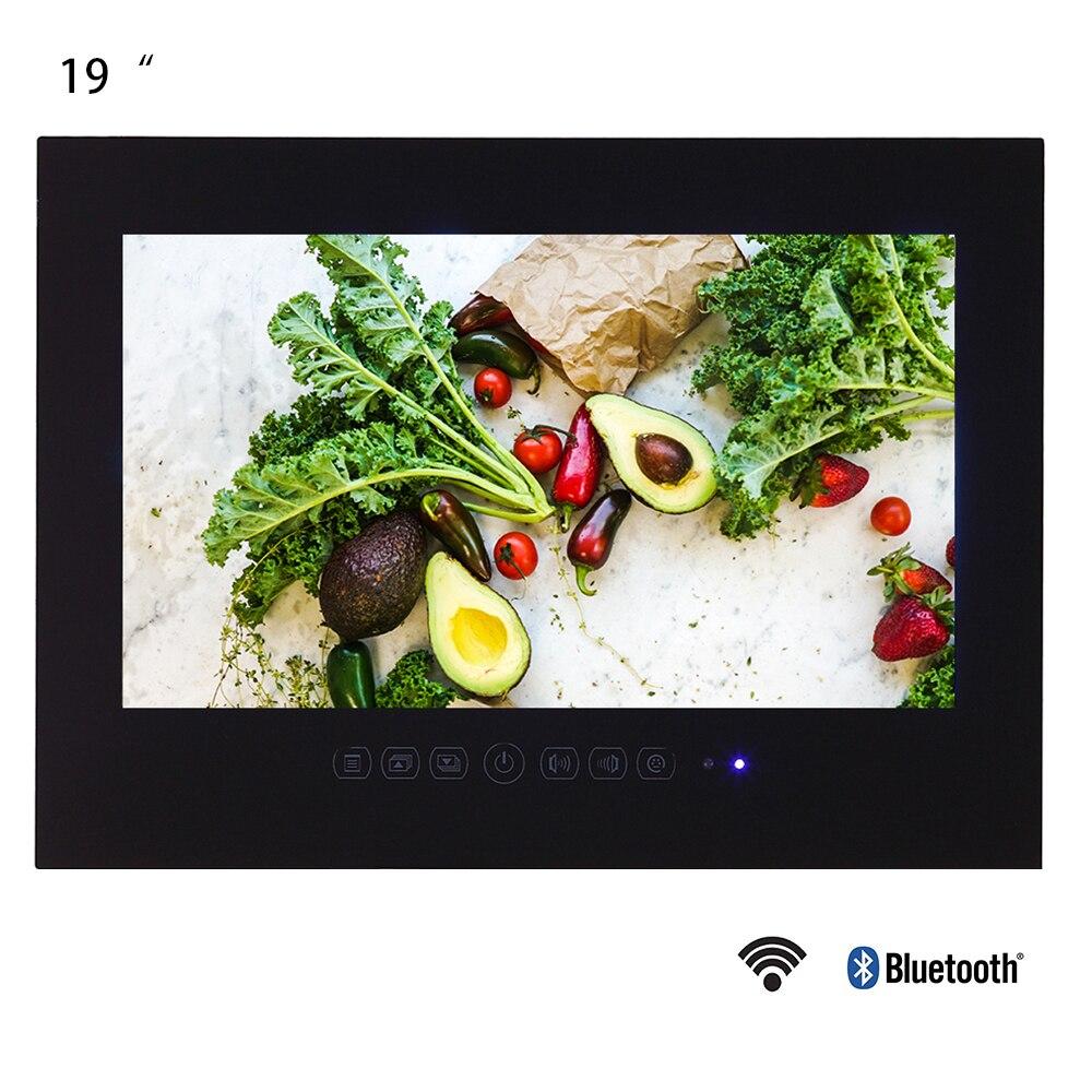 Водонепроницаемый светодиодный смарт телевизор Souria, 19 дюймов, Android 9,0, для ванной комнаты, ЖК монитор, Wi Fi, HD Домашний Телевизор с Интернетом