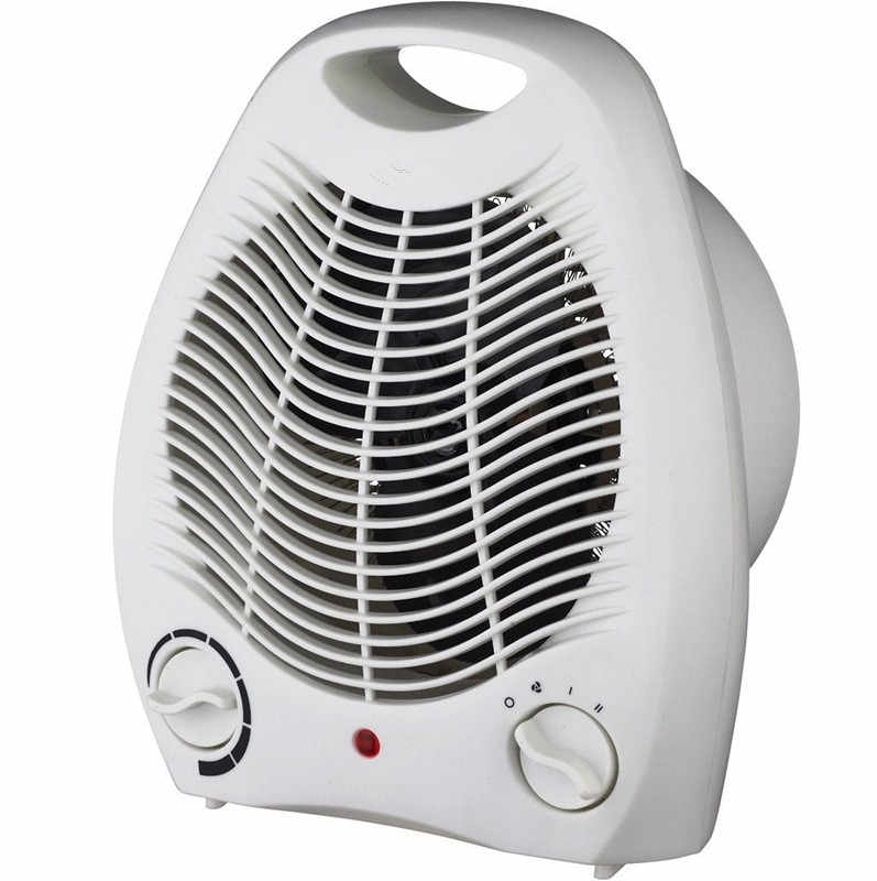 2000 واط المحمولة مروحة كهربائية غرفة سخان صغير 3 إعدادات التدفئة مسخن الهواء للمنزل الفضاء معطف شتوي مروحة