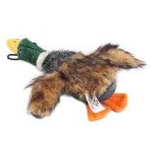 2021 nowa Zabawka Dla Psa kaczka wypchane pluszowe zabawki kaczka skrzypienie róg kaczka Pet Chews piszczałka piszczące zabawki akcesoria Zabawka Dla Psa