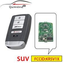 QWMEND KR5V1X SUV 4 Botões Chave Do Carro Inteligente Para Acura MDX RDX 2014 2020 Car 313.8Mhz Remoto Chave