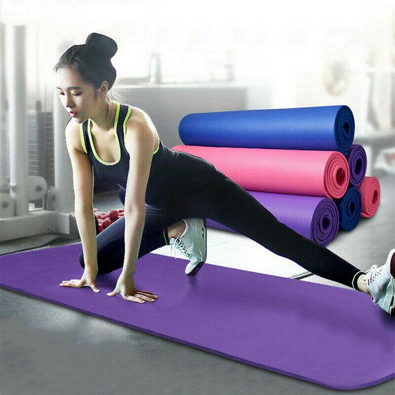173cm Yoga Mats Anti-slip Blanket Gymnastic Sport Health Lose Weight Fitness Exercise Pad PVC Women Sport Yoga Mat