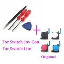 Original Analog 3D Joystick für Nintendo Schalter Freude Con & Lite Controller Joysticks Links RightW/Schraubendreher Tool Öffnen Kit