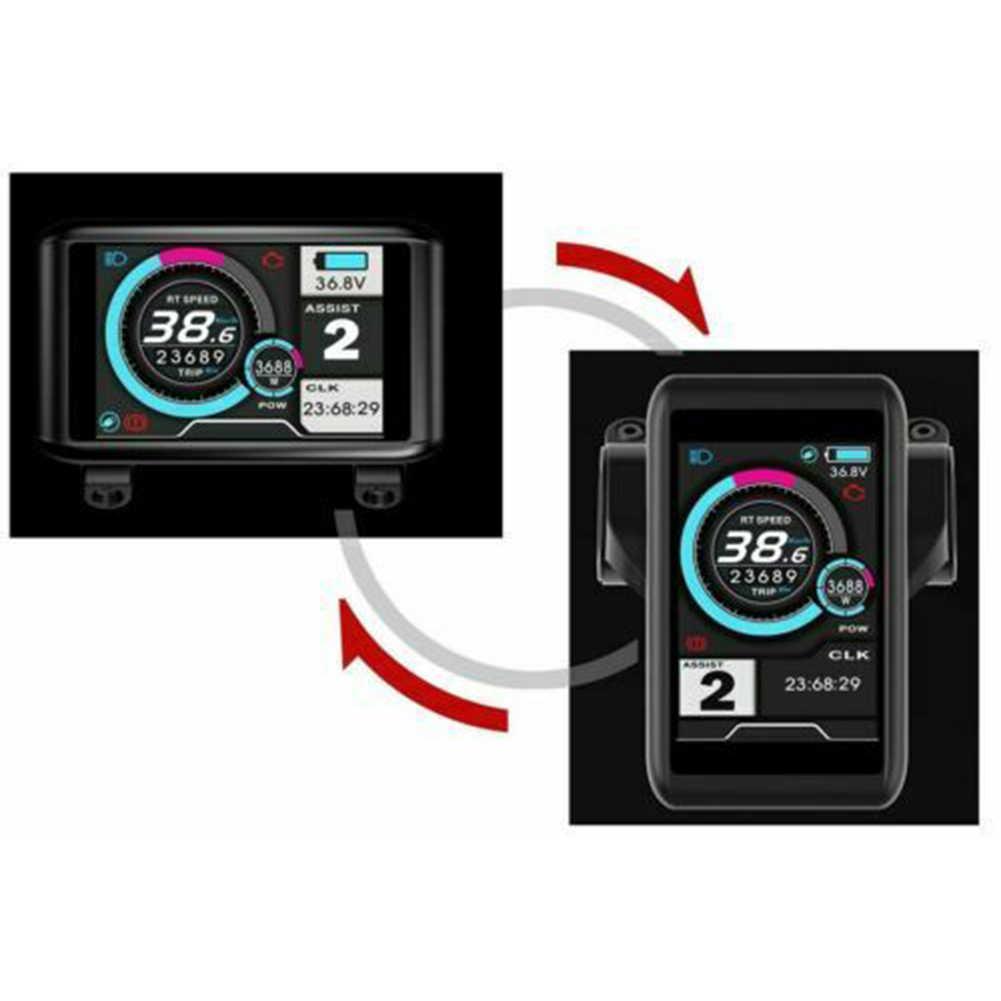 1 комплект 24-72 В UKC-1 дисплей/панель управления для E-bike/Велосипедный контроллер быстрого крепления