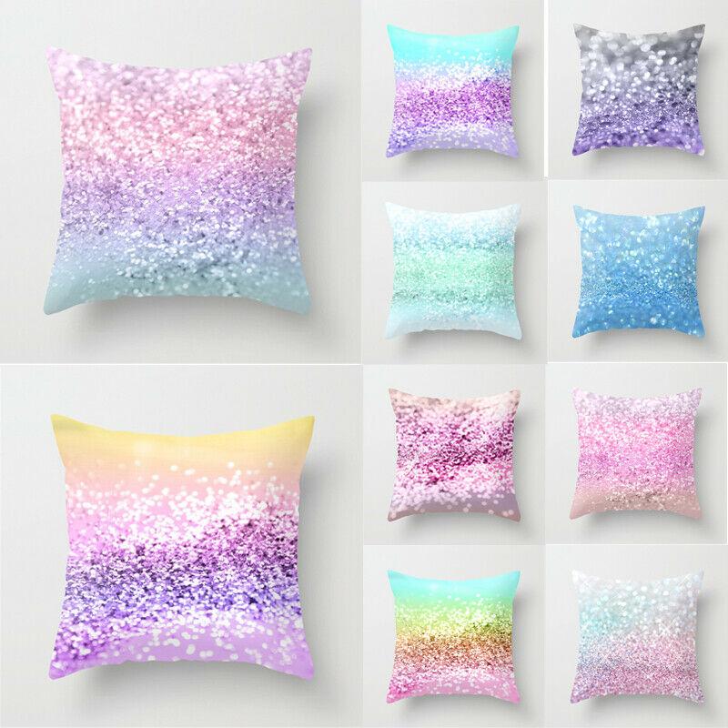 2019 New Shining Colour Cushion Cover Cotton Covers Canvas Home Cushion Cover Case in Cushion Cover from Home Garden