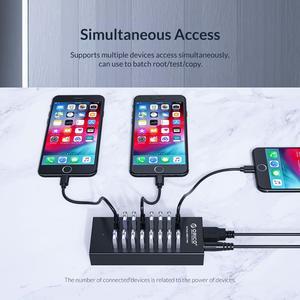 Image 5 - オリコ H1613 usb ハブ 16 ポート USB2.0 ハブ 12V2A 電源アダプタアップルの macbook のラップトップ pc タブレットの balck