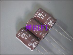 Image 1 - 20pcs NEW NIPPON KXG 200V47UF 12.5x20MM NCC electrolytic Capacitor 47UF 200V CHEMI CON kxg 200v 47uf