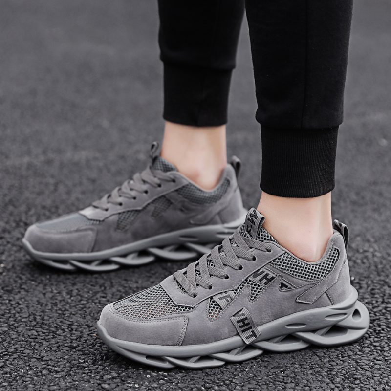 Chunky Sneakers Fashion 2020 New Men Platform Shoes Lace Up Vulcanize Shoes Mens Running Trainers Dad Shoes Breathable Sneakers