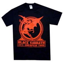Black Sabbath Europe 75 Official Shirt M L XL Heavy Metal T-Shirt New sbz4237