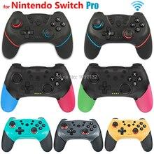 Bezprzewodowy Bluetooth Gamepad dla przełącznika Pro przełącznika NS Pro kontroler do gier z 6 uchwyt osi dla konsoli Nintendo przełącznik konsoli