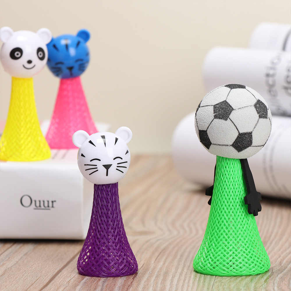 3Pcs Creative Jump Doll Bounce Ball Animals Fly Children Kids Baby Educational Toys Christmas Gift stress relief Toy