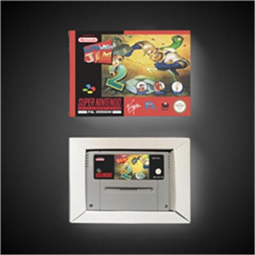 Ver de terre Jim 2   EUR Version carte de jeu daction avec boîte de vente au détail