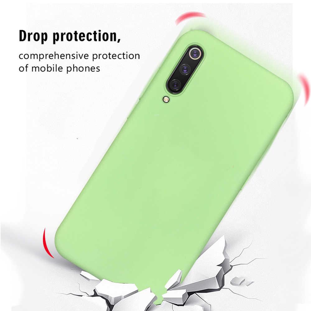 רך סיליקון טלפון Case עבור שיאו mi mi 9 T פרו 9 SE mi A2 A3 8 לייט CC9 CC9e צבעים בוהקים TPU כיסוי עבור שיאו mi mi 9 T mi 8 mi 9 T mi 6X