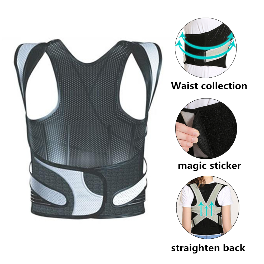 Tlinna Posture Corrector Belt with Adjustable Dual Strap Design to Get Perfect and Confident Body Posture Suitable to Wear Under or Over Clothing 3