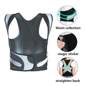 Image 4 - Tlinna Back Posture Corrector Therapy Corset Spine Support Belt Lumbar Back Posture Correction Bandage For Men Women
