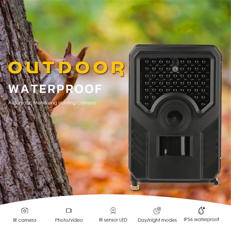 12MP 1080P Hunting Trail Camera Wildlife Cameras Infrared Night Vision Wild Photo Traps Surveillance Tracking Hunt Chasse Scout