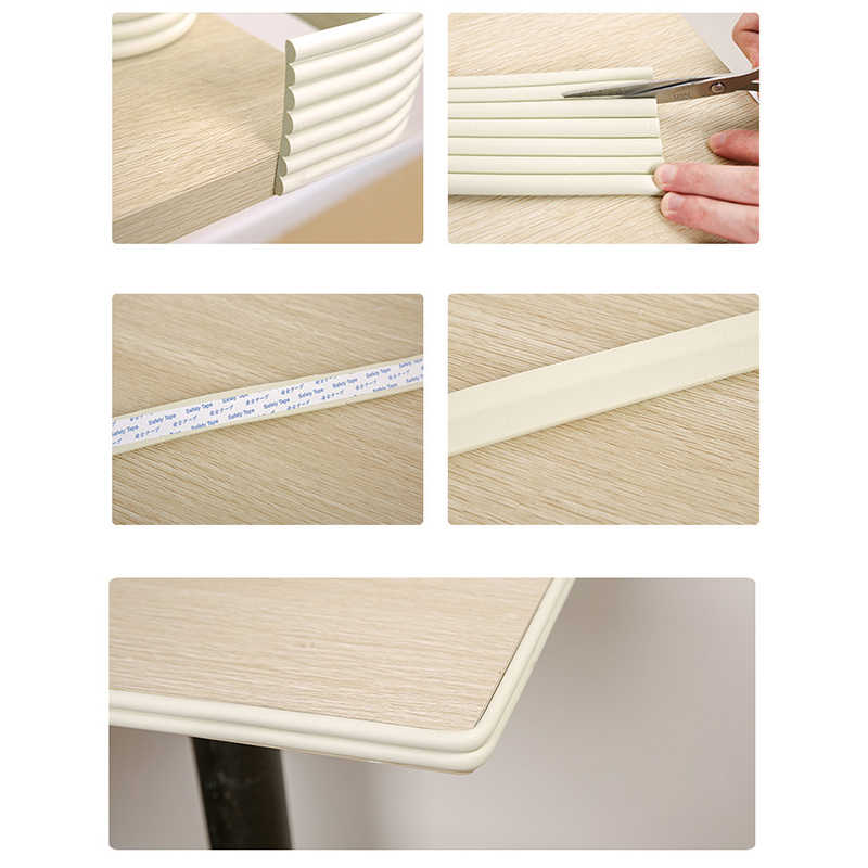 2M Infant Kids Desk Table Edge Guard Protector Foam Strip Safety Cushion·Bump ed