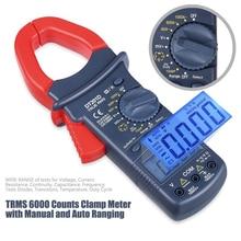 цена на DT201 Digital Clamp Meter AC/DC Multimeter Clamp Ammeter Large Jaw 1000V DC Current Clamp Meter LCD Digital Handhold Tools