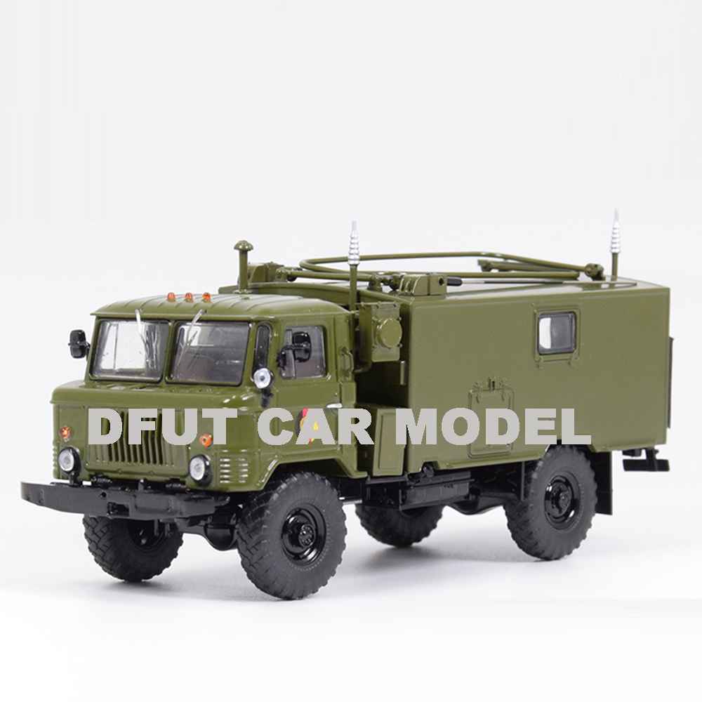 1:43 alloy toy car model GAZ-66 Truck children toy car original authorized authentic children toy gifts image