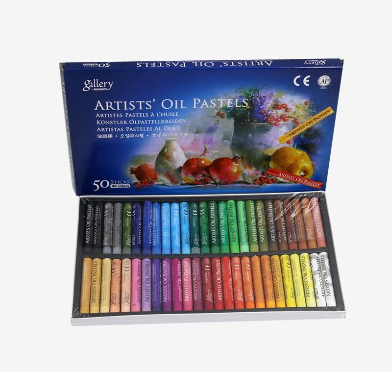 Free Ship<Graffiti Crayon Stationery-Supplies Oil-Pastel Drawing-Pen Painting Artist Professional