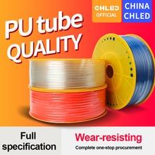 Pu tube pneumatic hose pu pipe 4 * 2.5 mm 6 * 4 mm 8 * 5 mm 10 * 6.5 mm 12 * 8 mm 16 * 12 mm air tube compressor hose 10meters уплотняющее кольцо 185 206 mm 4 отверстия