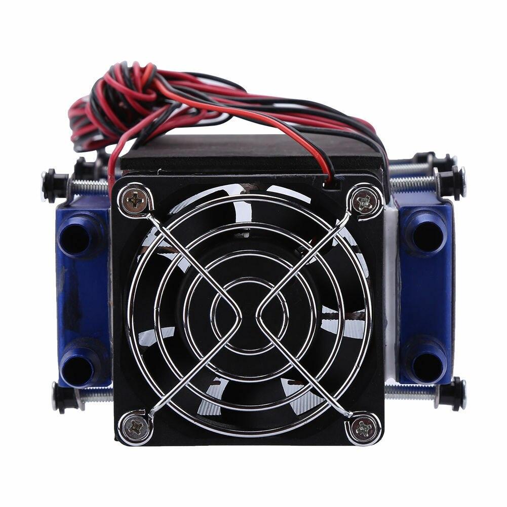 12V 576W 8 Chip DIY Термоэлектрический охладитель холодильная домашняя низкая шумовые аксессуары Пельтье TEC1 12706 алюминиевый инструмент кровать дл