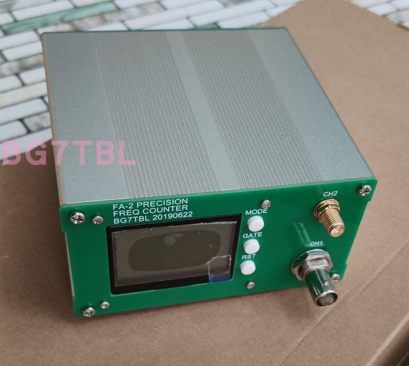 Compteur de fréquence FA-2 1Hz-6G compteur de fréquence avec fonction statistique, 11 bits/SEC, 6 GHz, 6G, haute vitesse et haute précision