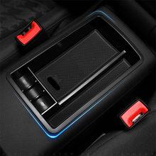 1pc accesorios de coche compartimento de almacenamiento de apoyabrazos Central para Audi A3 8V S3 S4 S5 A4 A5 B8 B9 8T Q2 Q2L Q3 8U Q5 8R estilo de coche
