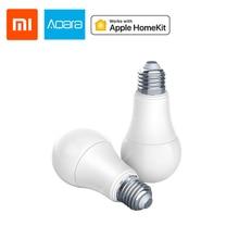 Xiaomi Aqara Smart bulb tunable White Color LED lamp Light Work Home Kit for xiaomi App 9W E27 2700K-6500K 806lum For Apple Homekit