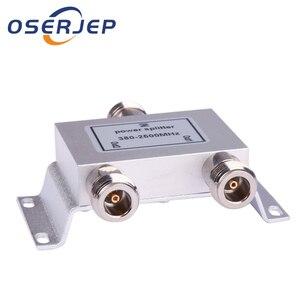 Image 1 - Разветвитель питания N 1 В/2, 380 ~ 2500 МГц для усилителя сигнала GSM CDMA 3G, подключение к внутренней антенне, уличная антенна