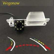 Pour Fiat Bravo 2011 HD sans fil voiture CCD caméra arrière Fisheye 4 8 12 led dynamique Vision nocturne étanche parking caméra de recul