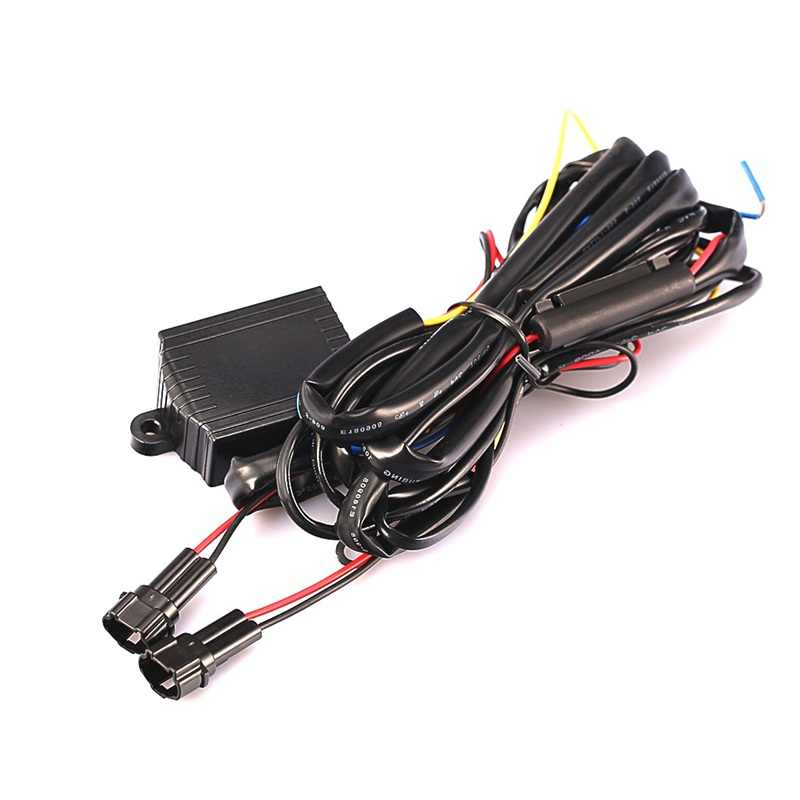 Hot Sale 12V DRL Lampu LED Siang Hari Relay Harness Otomatis On Off Switch Control